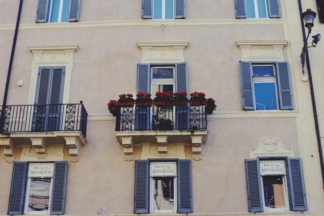 балкончики Рима