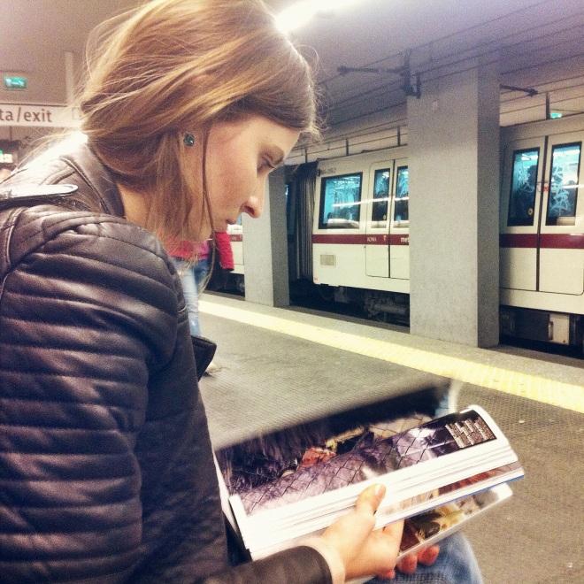 даже не метро покатались