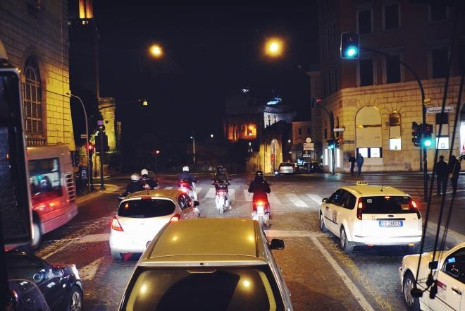 ночной Рим - это нечто!