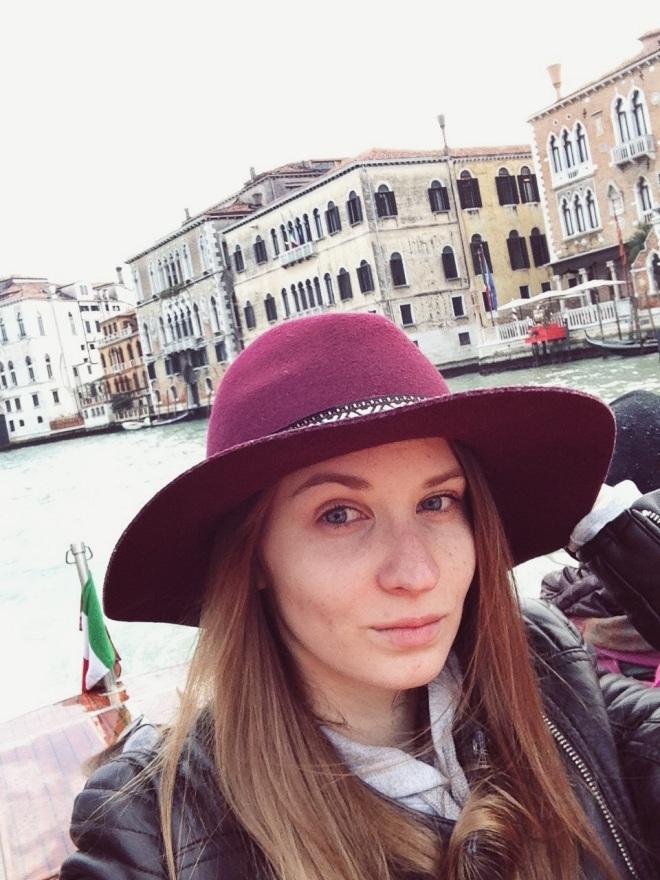 замерзшая в Венеции